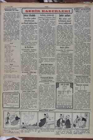 11 Nisan 1932 AKŞAMDAN AKŞAMA Adanada bir edip Çoktandır nevi şahsına mahsus bir muharririn, bir şairin yazıla- rını...