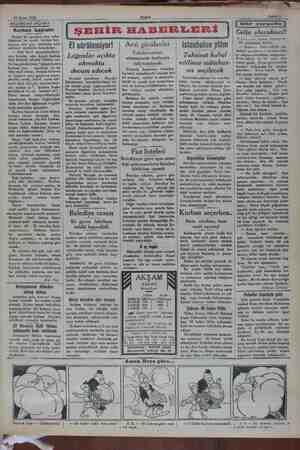 19 Nisan 1932 z © AKSAMDAN AKŞAMA Kurban bayramı Hususi bir mecliste, bazı arka- daşlarım, bu asırda kurban bay- ramının