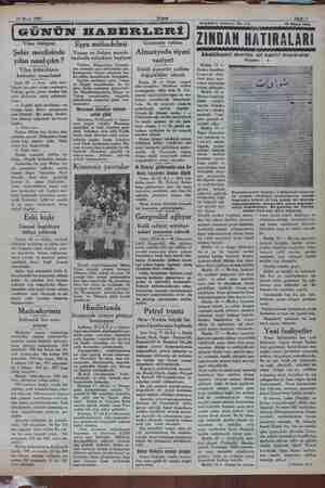 19 Mayıs 1932 Sahife 5 Yılan hikâyesi de Şehir meclisin yılan nasıl'çıktı ? Yılan öldürülünce kahveler ısmarlandı Izmir 18 —