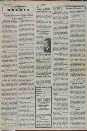 15 Haziran 1932 Tefrika No. 93 vi Akşam Sahife 9 15 Haziran 1932 YENİ NEŞRİYAT: mama | SEBA MELİKESİ | BELES Yazan: ISKENDER