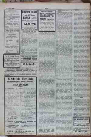 17 Temmuz 1932 SEYRİSEFAİN Merkez acenta: Galata Köprübaşı B. 2362. Şube A. Sirkeci Mühürdar zade han 2. 2740. POSTASI (EGE)