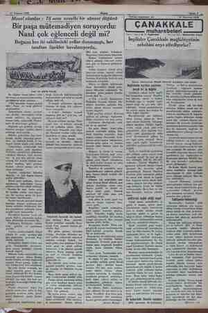 17 Temmuz 1932 Akşam m m Sahife 7 - ar ———a— 0 Masal olanlar : 75 sene evvelki bir sünnet düğünü Bir paşa mütemadiyen...
