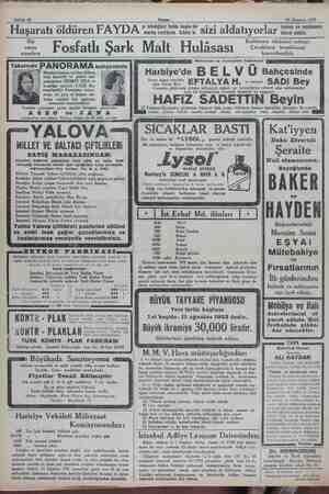 — Sahife 12 Akşam yı istediğiniz halde başka bir marka verirlerse biliniz ki sizl a Idatıyorlar 24 Temmuz 1932 e ismine ve
