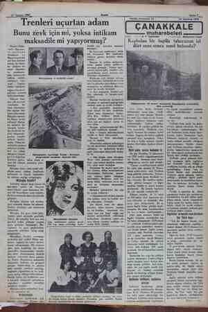 27 Temmuz 1932 Trenleri uçurt a an adam Akşam Bunu zevk için mi, yoksa intikam Viyana 20(Hu- susi)— Son sene- 'er zarfında