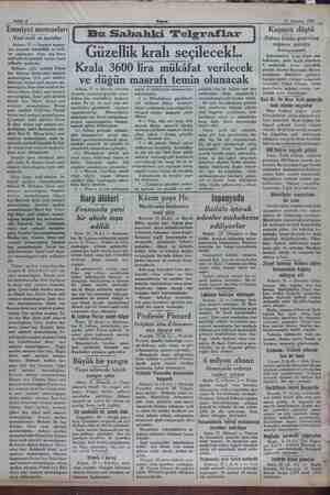 Sahife 2 Akşam 22 Ağustos 1932 Emniyet memurları Yeni terfi ve tayinler Ankara, 21 — Emniyet memur- ları arasında tebeddülât