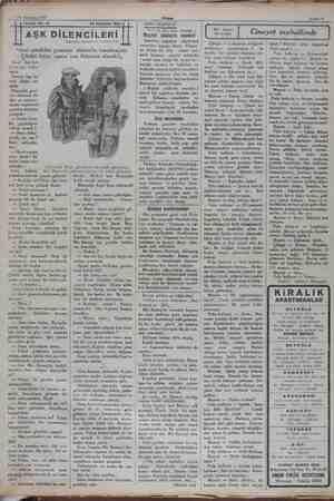 """24 Ağustos 1932 Tefrika No. 13 """"Seni şimdiden geminin doktorile tanıştırayım. Çünkü biraz sonra ona ihtiyacın olacak!,,..."""