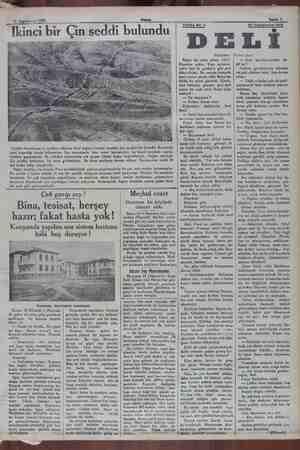 23 Teşrinievvel 1932 Akşam I EE inci bir Çin se di bulundu Cenübi Amerikanın iç tarafları, bilhassa And dağları havalisi
