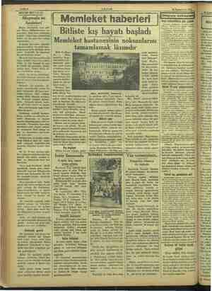 iöeonmiieni memenin 0 ĞİNMME e, AKŞAM 18 Teşrinievvel 1933 Sahife 6 a MEVSİM MEYVALARI Muşmula ve faideleri a ek sonu...