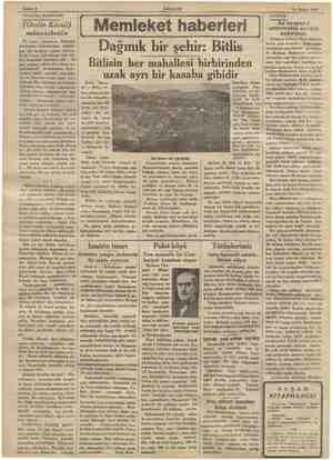 Sahife 6 11 Şubat 1934 TİYATRO BAHİSLERİ (Otello Kâmil) münasebetile Ne tuhaf adamlarız.. Birisinin iyiliğinden bahsederken