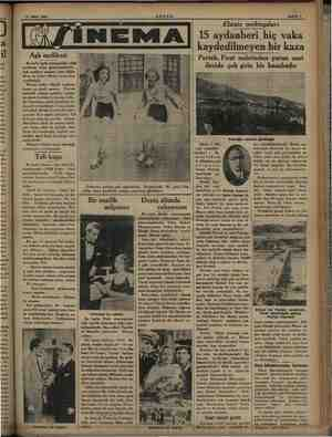 17 Mart 1934 Aşk melikesi Bu hafta İpek si imenomaril melikesi» filmi gösterilmektedir. Aşk melikesi meşhur artist Billie