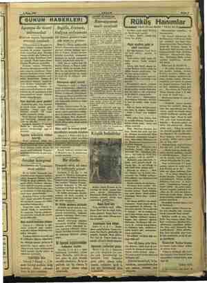 """m """"v ii JiLz m """"Jarım karşılamak üzere is ann eşin <eiyi eltoda bir komite teşkil edilmiştir. Yugosla 4 Nisan 1934 (İ GUNUN"""