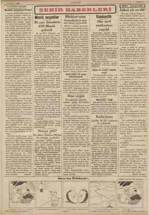 yn k aş MM 2 Haziran 1934 © OAKŞAMDAN AKŞAMA di allık Malaya i AKŞAM ŞEHİR HABERLERİ | arı attığı on üçüncü ei ge çenlerde,