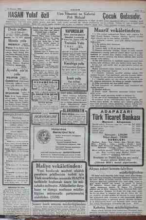 16 Haziran 1924 Yİ mana MMMMNNNMNNNMNMNNNN Sahife 11 - BASAN Yulaf Doktarlarınıza sorunuz. Yulaf çocuklara hayat ve ruli