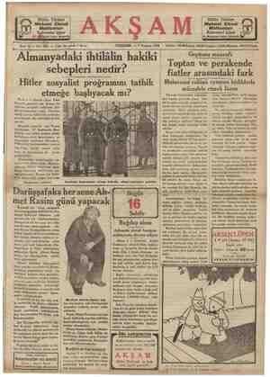Bütün Türkiye Mehmet Efendi Mahtumları Kahvesini içiyor İst, Miifçarşım kapım karşısında —— Sene 16 — No: 5652 — Fiatı her