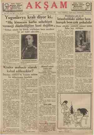 """Bütün Türkiye ehmet Efendi .Mahtumları Kahvesini içiyor ısırçarşısı kapısı karşısında Yugoslavya kralı diyor ki.. """"Hiç..."""