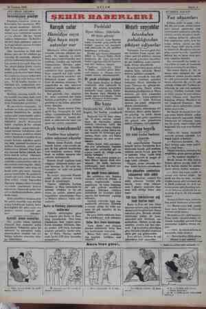 -25 Temmuz 1934 AKŞAM Sahife 3 AAKŞAMDAN AKŞAMA | Istanbulun pisliği İstanbulu, dünyanın temiz şe- sayamayız. Bilâ-...