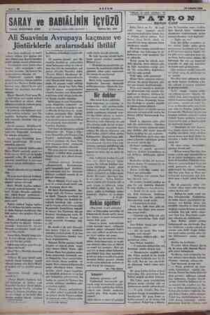Sahife 10 16 Ağuklök 1934. ii SULEYMAN KÂNI SARAY ve BABIÂLİNİN İÇYÜZÜ $$ Tercüme, iktibas hakkı mahfuzdur - Tetrika No. 338