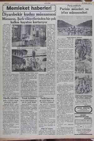 30 Ağlat 1834 Diyarıbekir kuduz müessesesi Müessese, Şark vilâyetlerinden bir çok hayatını kurtarıyor halkın Diyarbekir 20