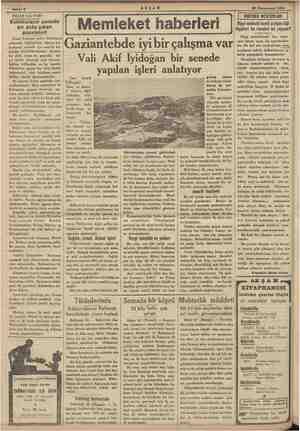 """ii """" Sahife 6 AKŞAM diğe * 20 Kânunusani 1935 NELER OLUYOR? Eskimoların senede bir defa çıkan gazeteleri Şimal kutbuna..."""