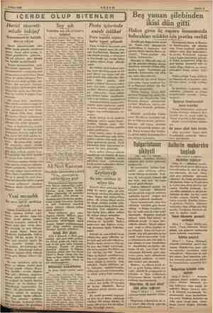 8 Mart 1955 AKŞAM | İÇERDE OLUP BİTENLER Harici ticareti- mizde inkişaf İhracatımızdaki fazlalık evam ediyor...