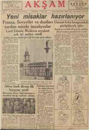ARSEN LUPEN Roman serisi tamamlandı 6 büyük cilt Her cildin fiyeti: 80 kuruş AKŞAM KİTAPHANESİ - A, PAZARTESİ — 1 Nisan 1935