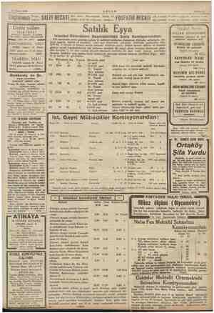 ETT 25 Nisan 1935 AKŞAM Sshife 11 ji öp Bahçe i y den alınız. Reçeteleriniz büyük bir OSF iN » çok kıymetli bir bebek...