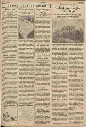 R 3 Mayis 1935   İÇERDE OLUP BİTENLER   AKŞAM Içki fiatları ucuzlıyacak mı? iye bakanlığı may ipa tetkik ediy: i atılmasi...
