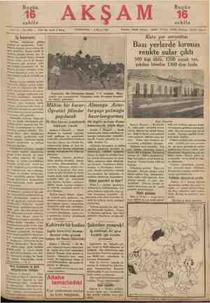 """a tbikatı etrafında vekâlete rapor"""" 46 sahife , Sene 17 — No. 5940 — Fiatı her yerde 5 kuruş —— pi Iş kanunu Türkiye,..."""