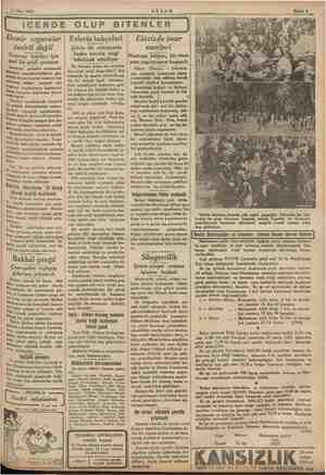 11 Myis 1935 AKŞAM | İÇERDE OLUP BITENLER Demir ızgaralar tesirli değil Tramvay kapıları için yeni bir şekil aranıyor *...