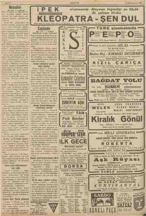 "E w "" Sahife 4 © Kânunuevvel 1935 ————— AKŞAM Musolini «Baş tarafı İ ci sahifede) Foar Avrupada ve dünyada sul- hün devamına"