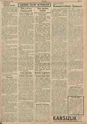 21 Kânunuevvel 1935 DÜŞÜNCELER Çok mu gördü? cileri için Karmen op: izahatlı > İstanbul saatile, 18,30 da verec: Benim yi