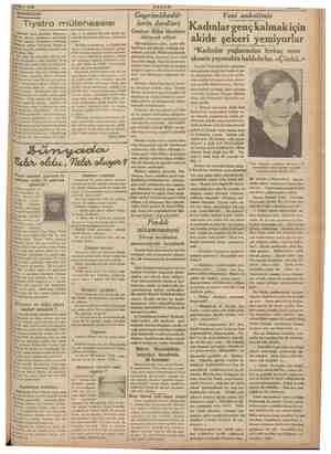 2 Mart 1936 DÜŞÜNCELER amaaa Bzeteler yazıp durdular, Almanya- : getirtilmiş. i ii filân. Ben daha ilk gününden be *0...