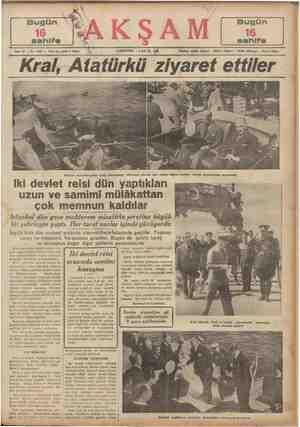 24240 (dare) * 24249 ( Tahrir) - 24248 Çata) - 20113 (işe) Atatürk ziyaretine gelen krala Dolmabahçe rıhtımına çıkmak için