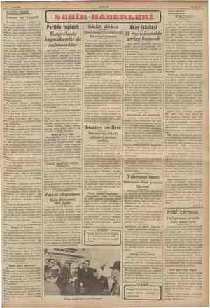   15 Eylül 1936 AKSAMDAN AKŞAMA: er er İnsan ve koyun Serli levhayı görünce, Yu idir, ede; e gi sene de Karadeniz kıyılarını