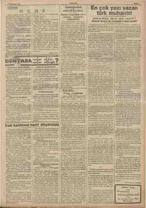 1 Teşrinisani 1926 » AKşam DÜŞÜNCELER: ağ #Gebe> sözünü vaktiyle ayıp ve «hamile» demek lüzumunu eğ lar, Çünkü dikkat...