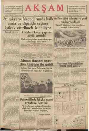 Macaristan, Yugos- lav toprağında gözü Yugoslavya Bulga- ristanı Balkan paktı- olmadığına dair te- na girmek için iknaa -