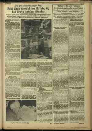 """Şubat 1997 smmm AKŞAM """"Fy"""" gidi Sahaflar çarşısı hey.. Eski kitap meraklıları, iki bin, üç bin liraya satılan kitaplar..."""