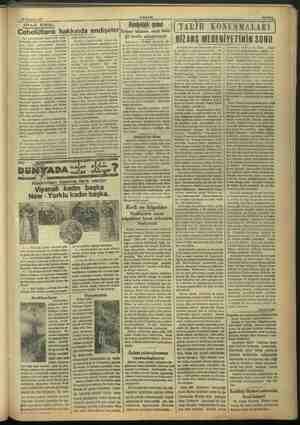 30 Temmüz 1937 —— —— SİYASI. İCMAL: Cebelüttarık hakkında endişeler Son zamanlarda İngilterede Cebe- ca gürplen devlet...