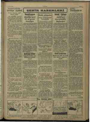 12 Mart 1938 AKŞAM Sahife $ AKŞAMDAN AKSAMA. İstriidye ziyafeti Bolulu ahçıların nesli inkiraz buldu Garp midesizliğinin