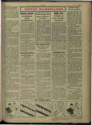 © Yarüs etmişler?.. 18 Mart 1938 #KŞAM Bahife IAKŞAMDAN AKŞAM — m — Bir dirilme arifesindeyiz... Mesud Cemli ve arkadaşları