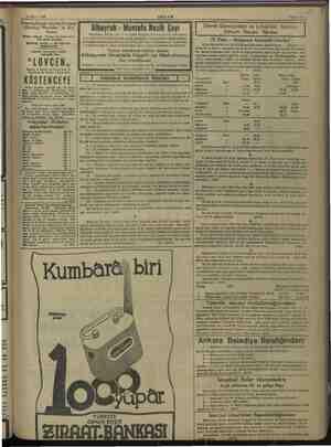 KaRRgE RR BE BER 14 Mayıs 1938 e - AKŞAM Enterbalkanik seyrüsefer hattı| (Zetska) Plovidba A.D.) Kotor | Balkan İttibadı...