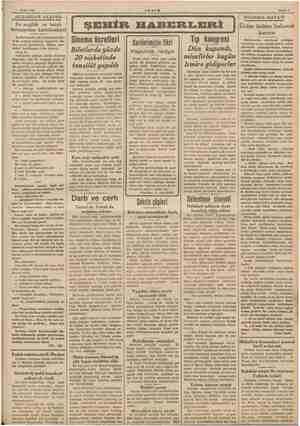 11 Eylül 1938 AKŞAM Sahife $ AKŞAMDAN AKŞAMA Bu muğlâk ve hatalı kırtasiyeden kurtulmalıyız! Karilerimizden biri,...