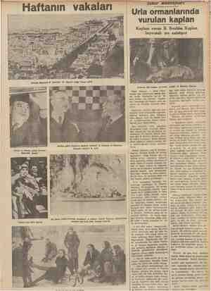 Berline giden İngiltere bankası müdürü B. Norman ve Almanya barıkası müdürü B. Şaht Bir deniz muharebesinde yaralanan ve