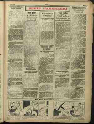 6 Mart 1939 Berber Antuanın son icadı Gazeteler ve havadis filimleri yeni bir kadın modası «lânse» ediyor. (1) 1 İki renk