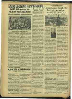 13 Nisan 1939 mühim karşılaşması Beşiktaş cuma günü Ankaraya gidiyor A Beşiktaşlılar geçen sene Ankarada yaptıkları maçta