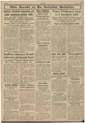 """İngilizler, Tientsinde tabaalarının çırıl çıplak soyulmasını protesto ettiler İngiliz Başvekil """"İngiltere kendi harici..."""