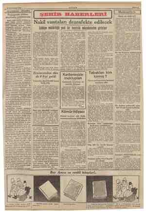 30 Kânunusani 1940 AKŞAMDAN AKŞAMA mma Propaganda silâhını aleyhimize çevirtemeyizl Harbin böyle türlüsü görülmüş şey değil.