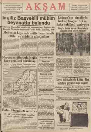 Finler Kuhmo'da Sovyet mühimmat Milli korunma kanunu pazartesi gününden itibaren tatbik mevkiine girdi depolarını patlattılar