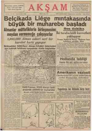 Macaristan mühim tedbirler alıyor. Yedi sınıf asker silâh altına çağırıldı - Sene 22 — No. 7745 — Piati her yerde 5 kuruş