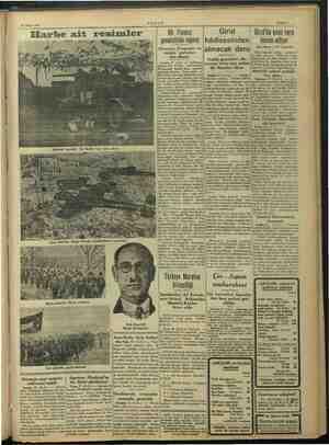 26 Mayıs 1941 AKŞ AM Sahife 7 Elarbe : ki Bir Fransız generalinin raporu Almanya; Fransanın en zengin yerlerine ö: ilkmi: A.)